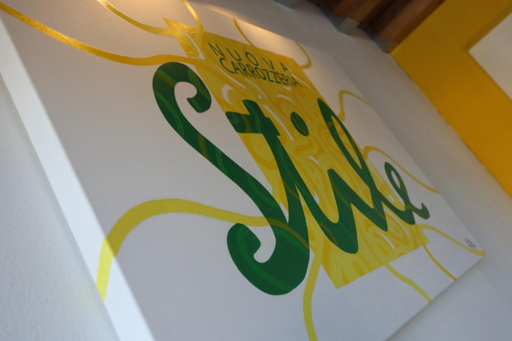 Il logo della Nuova Carrozzeria Stile spinea